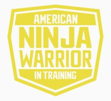 American Ninja Warrior - Yellow Kids Tee
