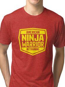 American Ninja Warrior - Yellow Tri-blend T-Shirt