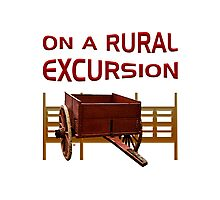 On A Rural Excursion Photographic Print