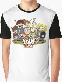 In the Loud House! Graphic T-Shirt