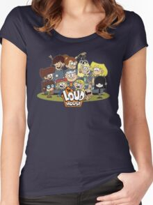 In the Loud House! Women's Fitted Scoop T-Shirt