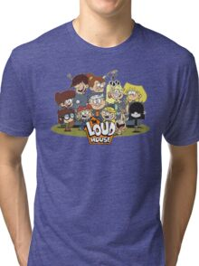 In the Loud House! Tri-blend T-Shirt