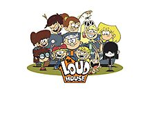 In the Loud House! Photographic Print