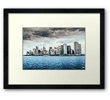 South Manhattan Framed Print