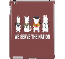 SERVICE DOG iPad Case/Skin
