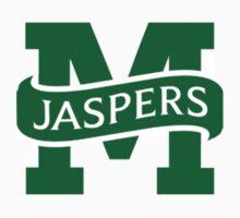 manhattan college jaspers logo by drahhh