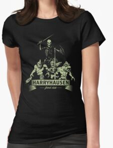 Harryhausen Fiend Club Womens Fitted T-Shirt