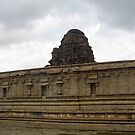 Temple Gopuram in Hampi by magiceye
