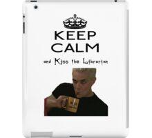 Buffy Spike Kiss the Librarian iPad Case/Skin