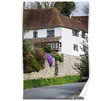 Pretty Cottage on a Sunny Day Poster