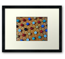 Chinese Checkers Framed Print