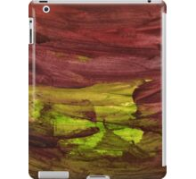 Abstract Watercolor textures iPad Case/Skin