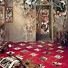 The Room of the Collagist. by Andreav Nawroski