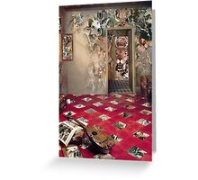 The Room of the Collagist. Greeting Card