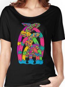 Pastel Mushroom Women's Relaxed Fit T-Shirt