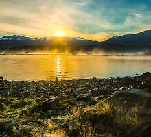 Tekapo Dawn by Phoxford