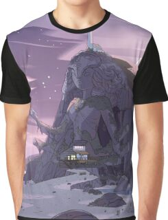 Steven Universe Night Temple Graphic T-Shirt