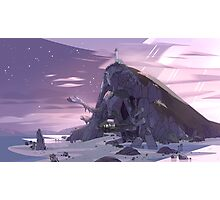 Steven Universe Night Temple Photographic Print