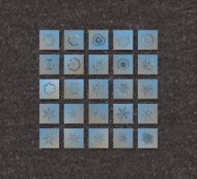 Snowflake collage - Season 2013 bright crystals Unisex T-Shirt