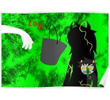 Karkat's Jade Portal Bucket Reaction Poster