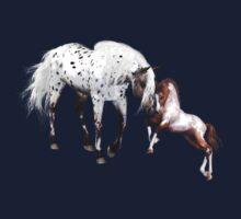 Horses Love Forever Kids Tee