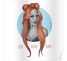 Free as my Hair! Poster