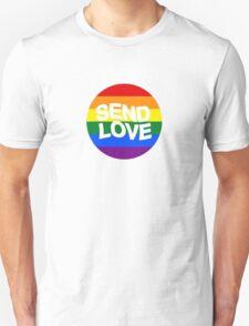 send love // pride month  Unisex T-Shirt