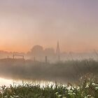 Sunrise over Olney by James  Key