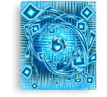 Blue Fire Canvas Print