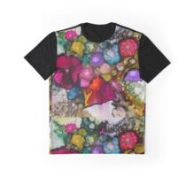 Sparkling Floral Graphic T-Shirt