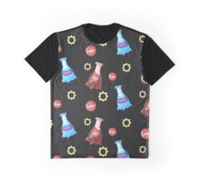 Cola and Bottlecaps Graphic T-Shirt