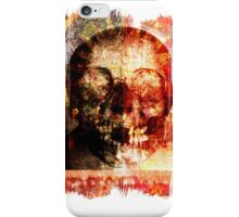 floral skully iPhone Case/Skin