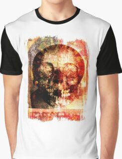 floral skully Graphic T-Shirt