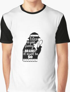 """BORING!""- Sherlock  Graphic T-Shirt"