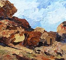 Devil's Marbles NT by Cathy Gilday