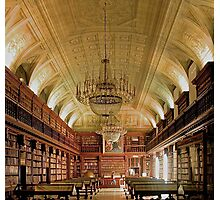 The library at Pinacoteca di Brera Photographic Print