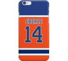 Oilers Jordan Eberle Orange Alternate Jersey iPhone Case/Skin