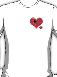 Heart Jigsaw the Missing Piece T-Shirt