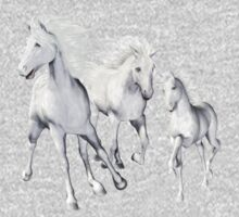 White Horses On The Beach Kids Clothes