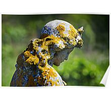 Weathered Angel Poster