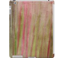 Abstract Watercolor strokes iPad Case/Skin