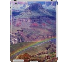Arizona, Grand Canyon's rainbow iPad Case/Skin