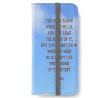 Born of the Spirit iPhone Wallet/Case/Skin