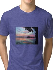 Sunrise On The Lake Tri-blend T-Shirt