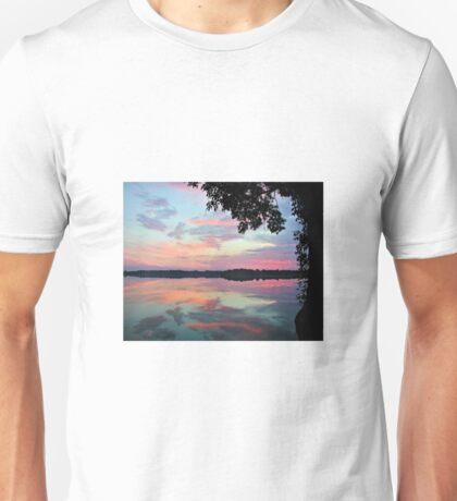 Sunrise On The Lake Unisex T-Shirt