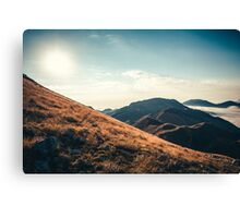 Mountains in the background XXIII Canvas Print