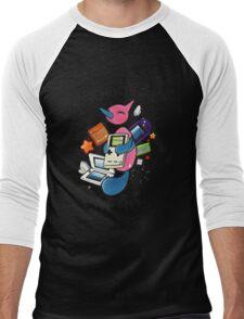 #474 Porygon Z - Genderless Nerd Men's Baseball ¾ T-Shirt
