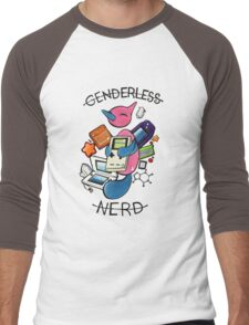 #474 Porygon Z - Genderless Nerd Men's Baseball ¾ T-Shirt