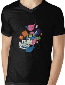 #474 Porygon Z - Genderless Nerd Mens V-Neck T-Shirt