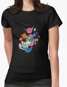 #474 Porygon Z - Genderless Nerd Womens Fitted T-Shirt